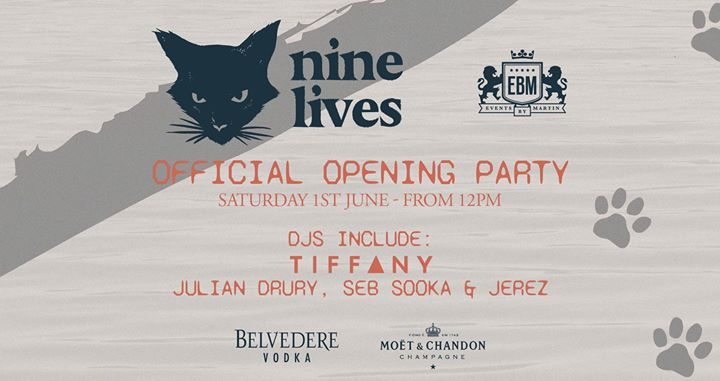 EBM – NINE LIVES OPENING PARTY