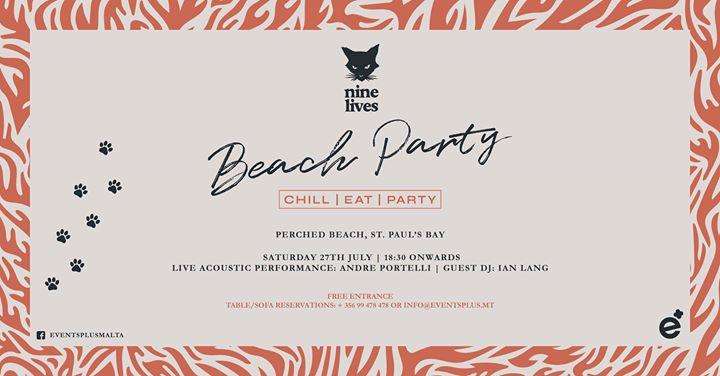 Nine Lives Beach Party