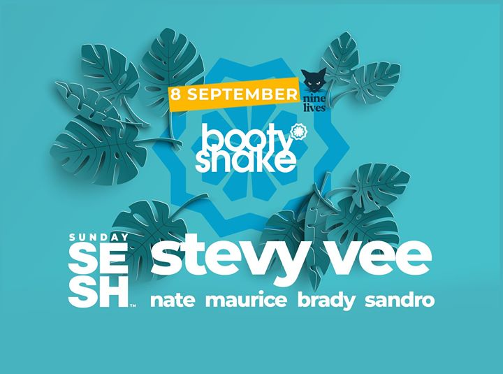 Sunday Sesh. Booty Shake by Stevy Vee