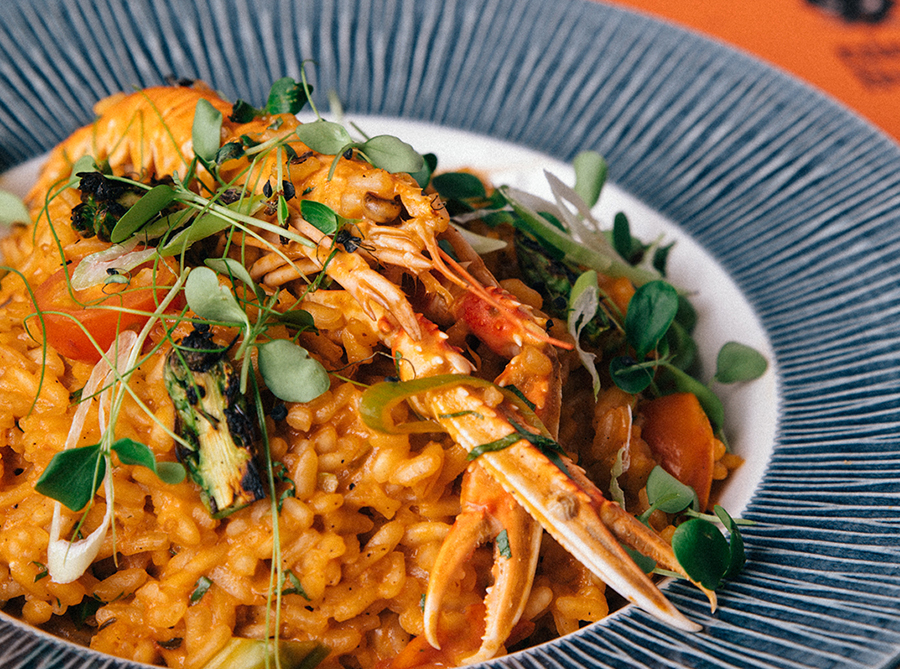 Risotto Crab and Langoustine