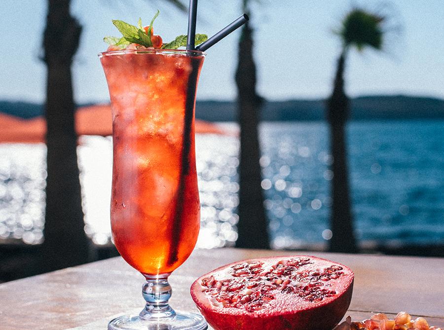 Playful Pomegranate Cocktail